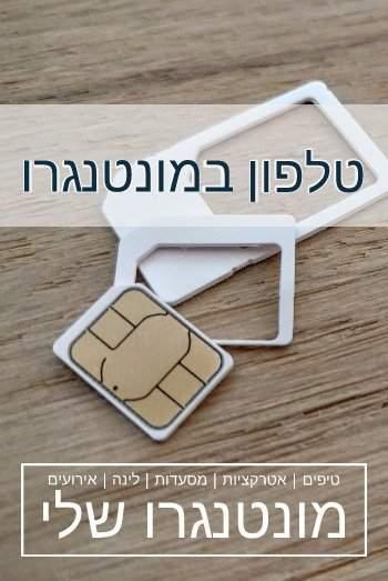 sim card montenegro