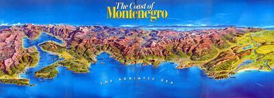מפות מונטנגרו